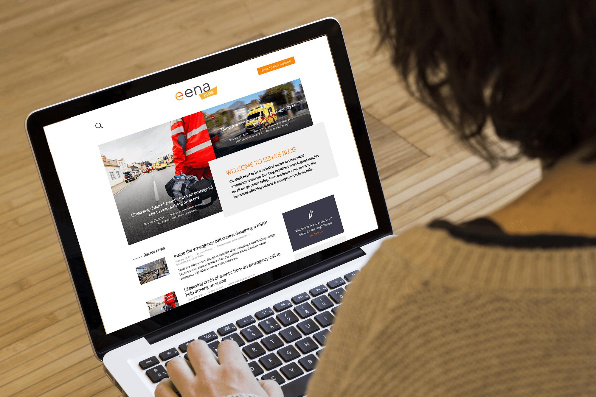 EENA Blog - designed and developed by Fastlane